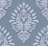 Vector damask seamless pattern element. Classical luxury old fashioned damask ornament, royal victorian seamless texture Royalty Free Stock Images