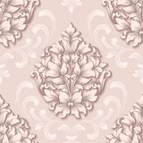 Vector damask seamless pattern element. Classical luxury old fashioned damask ornament, royal victorian seamless texture vector illustration