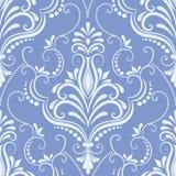 Vector damask seamless pattern element. Royalty Free Stock Photo