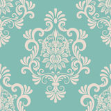 Vector damask seamless pattern element. Stock Photos