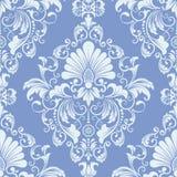 Vector damask seamless pattern element. royalty free illustration