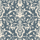 Vector damask seamless pattern element. Stock Photo