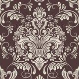 Vector damask seamless pattern element. Stock Photos