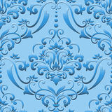 Vector damask seamless pattern element. Royalty Free Stock Photos
