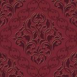 Vector damask seamless pattern element. Stock Photo