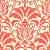 Vector damask seamless pattern element Royalty Free Stock Photo