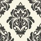 Vector damask seamless pattern element Royalty Free Stock Photos