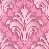 Vector damask seamless pattern element. Elegant luxury texture for wallpapers, backgrounds and page fill. Royalty Free Stock Photography