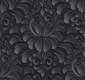 Vector damask seamless pattern element. Elegant Stock Photos