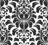 Vector damask seamless pattern element. Elegant Stock Photography