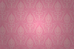 Vector damask seamless pattern. Stock Photos