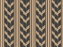 Vector damask seamless retro pattern background geometry cross frame line. Elegant luxury brown tone design for wallpapers,. Backdrops and page fill stock illustration