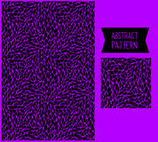 Vector dark abstract hand-drawn pattern Royalty Free Stock Photography