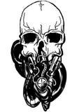 Vector dark art . Stock Image