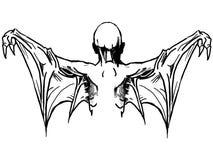 Vector dark art . Royalty Free Stock Photo