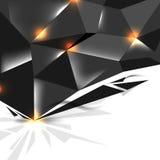 Vector dark metallic concept background design Stock Photography