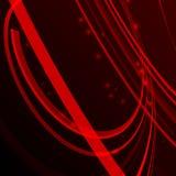 Vector das abstrakte illustartion, das Linien Strahl von ligh kurvt lizenzfreie abbildung