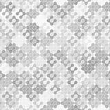 Vector de Abctract Grey Connections Elements Seamless Background ilustración del vector