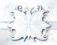 Vector de achtergrond Abstracte van de Vlinder Royalty-vrije Stock Fotografie
