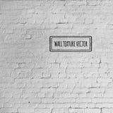 Vector de bakstenen muurtextuur van Grunge Royalty-vrije Stock Foto