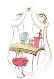 Vector de Bathroom Imagenes de archivo