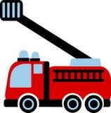 Vector de Car del bombero Imágenes de archivo libres de regalías