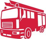 Vector de Car del bombero Imagen de archivo