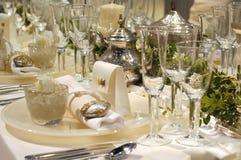 Vector de cena blanco de lujo imagen de archivo libre de regalías