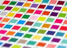 Vector de color Imagen de archivo libre de regalías