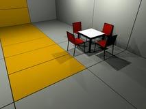 Vector de cuatro sillas stock de ilustración