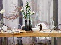 Vector de Dinning Imagen de archivo libre de regalías