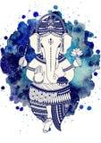 Vector de dios de Ganesha Imagen de archivo libre de regalías