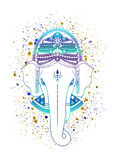 Vector de dios de Ganesha Fotos de archivo