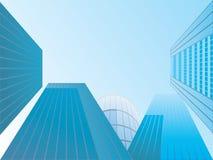 Vector de edificios Fotos de archivo libres de regalías