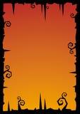 Vector de illustratieachtergrond van Halloween Royalty-vrije Stock Foto