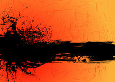 Vector de la bandera de Grunge Imagen de archivo