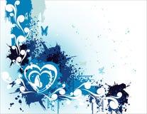 Vector de la bandera del amor   Foto de archivo
