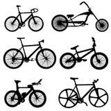 Vector de la bicicleta Foto de archivo libre de regalías