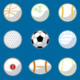 Vector de la bola del deporte Imágenes de archivo libres de regalías