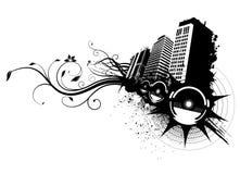Vector de la ciudad de la música