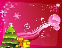 Vector de la decoración de la Navidad ilustración del vector