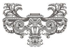 Vector de la decoración Fotos de archivo