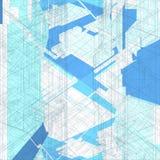 Vector de la estructura de la red de alambre del mosaico Fotografía de archivo libre de regalías