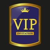Vector de la etiqueta del Vip Imágenes de archivo libres de regalías