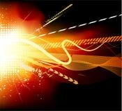 Vector de la explosión Imagen de archivo libre de regalías
