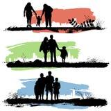Vector de la familia Foto de archivo libre de regalías