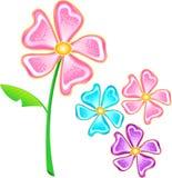 Vector de la flor Fotos de archivo