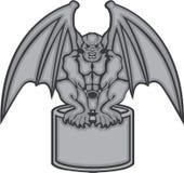 Vector de la gárgola Imagen de archivo