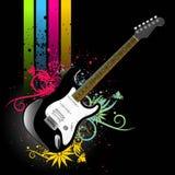 Vector de la guitarra Foto de archivo libre de regalías