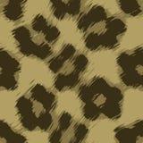 Vector de la impresión del leopardo Imagen de archivo
